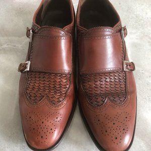 Ferragamo brown leather dress shoes
